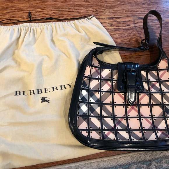 932dab3694a2 Burberry Handbags - Burberry Warrior Nova Check  Brooke  Hobo